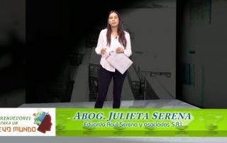 Julieta Serena - Exportación de Bienes y Servicios